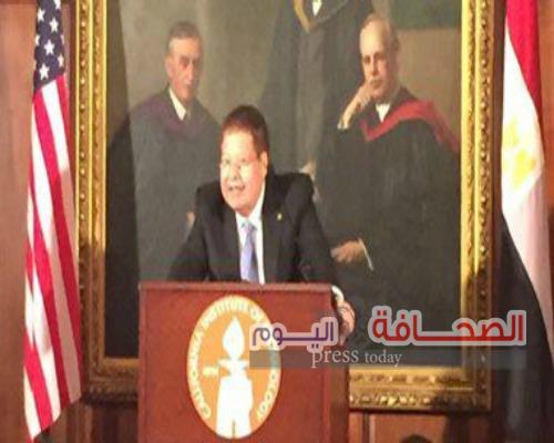 """""""زويل""""يضع علم مصر بجانبه خلال الإحتفال بعيد ميلاده"""
