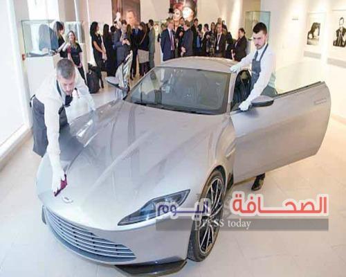 سيارة جيمس بوند بـ 3,5 نصف مليون دولار