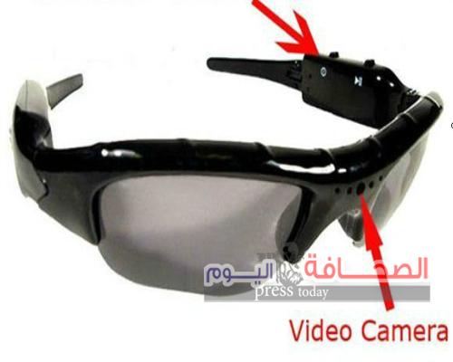 """التحفظ على """"نظارة تجسس """"بمطار القاهرة"""