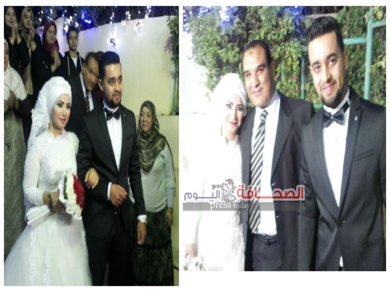 """زفاف """"إيمان صبحى وعبد الرحمن عثمان """"فى ليلة من ألف ليلة"""