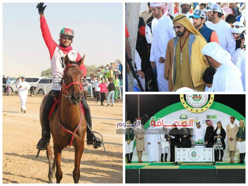 190 فارسا تنافسوا فى مهرجان الشيخ منصور للخيول