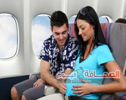 """نصائح"""" للمرأةالحامل"""" قبل السفر بالطائرة"""