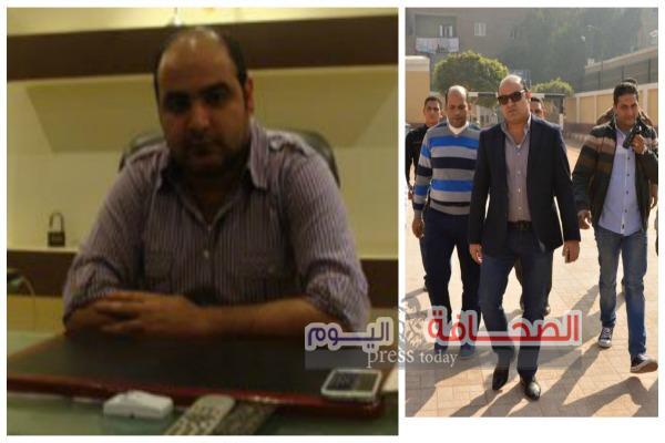 إستشهاد رئيس مباحث شبرا الخيمة  ثان وجنازة عسكرية بالمنوفية
