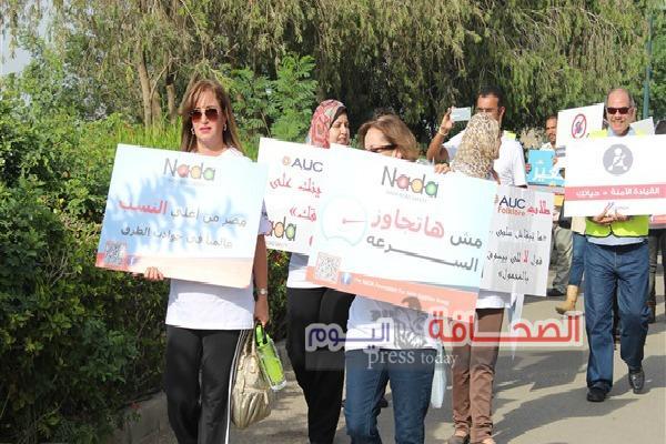ندى لطرق مصرية آمنة تواصل جهودها لزيادة الوعى بخطورة حوادث الطرق