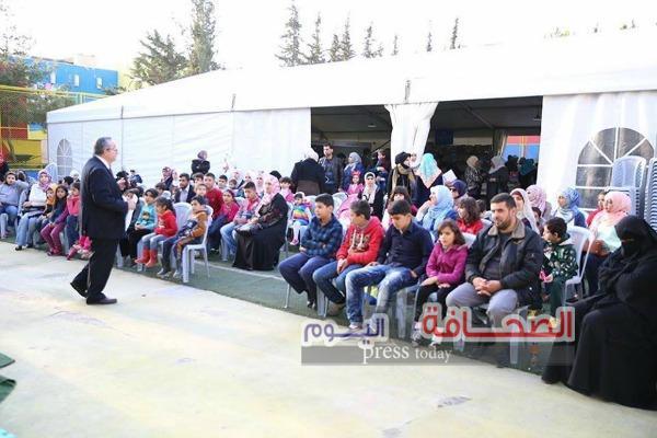 """إنطلاق مهرجان القراءة الممتعة  بمركز """"زها الثقافى """"بالأردن"""