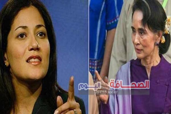 """سيدة """"نوبل البورميه """"ترفض إدانة مايتعرض له المسلمين"""