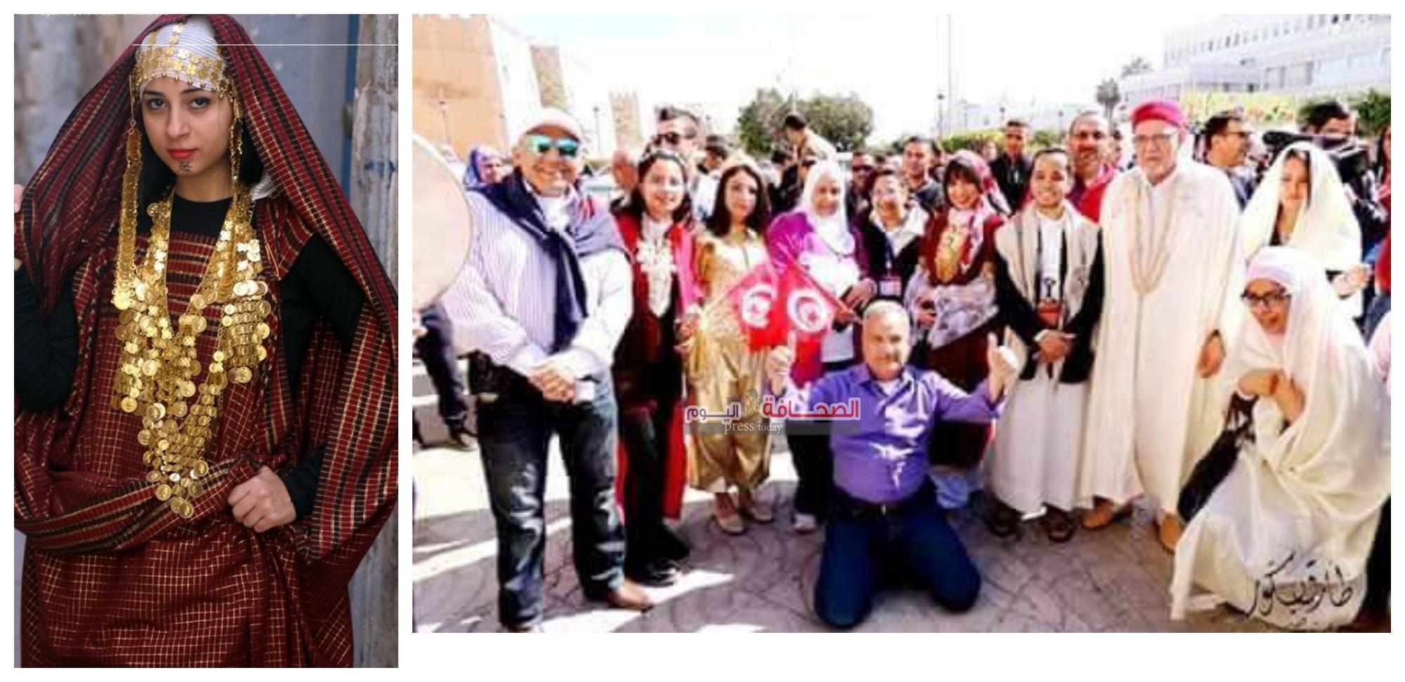 بالصور : كرنفال الزى التقليدى  التونسي يطوف المدينه العتيقه