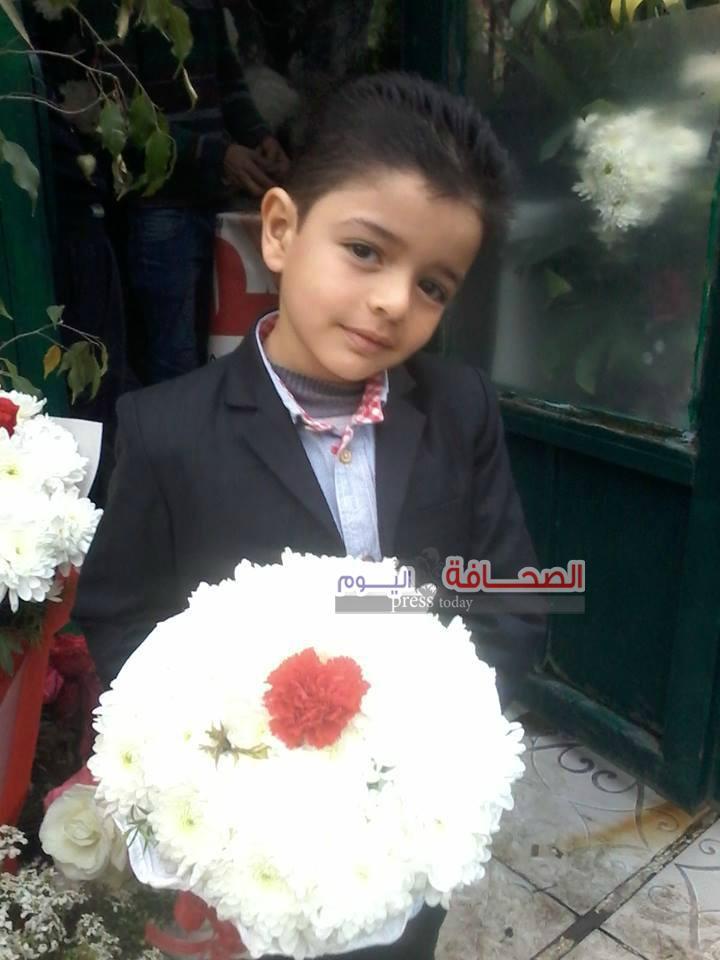 """""""أنس كارم"""" يشارك فى مسابقة أجمل طفل عربى"""