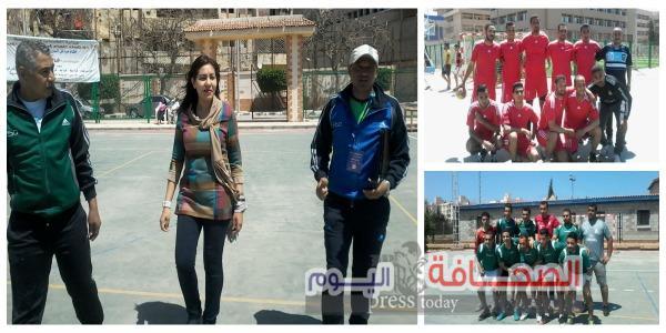 إنطلاق دورى الإتحاد العام لمراكز  شباب المدن بالاسكندرية
