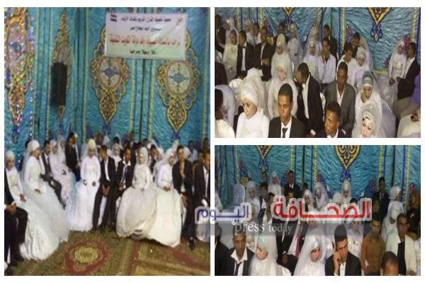 زفاف جماعى لـ 50 عروسة بسوهاج