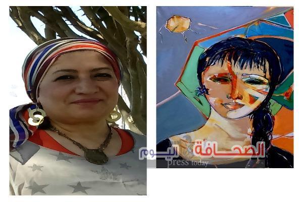 """افتتاح معرض الفنانة """"أمل نصر """"بمتحف الفنون الجميلة بالإسكندرية"""