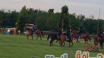 بالصور : روما تحتضن كاس زايد للخيول العربية