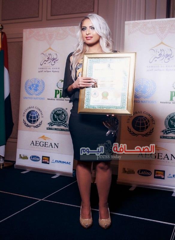 بالصور: ملكة جمال الأردن سفيرة للسلام العالمي