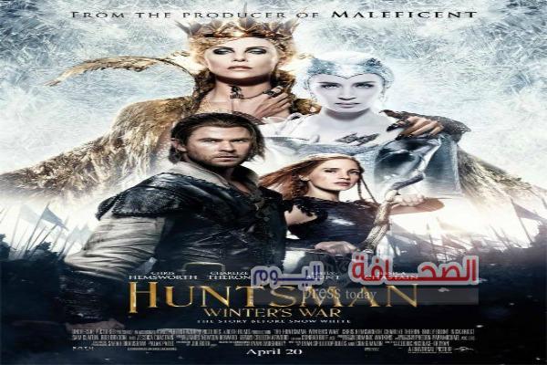 130 مليون دولار إجمالى إيرادات فيلم  The Huntsman: Winter's War
