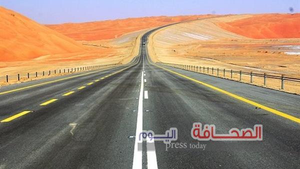 تدشين الخط البرى بين سلطنة عمان والسعوديه