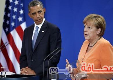 أوباما وميركل يعربان عن إحترامهما لإرادة الشعب البريطانى