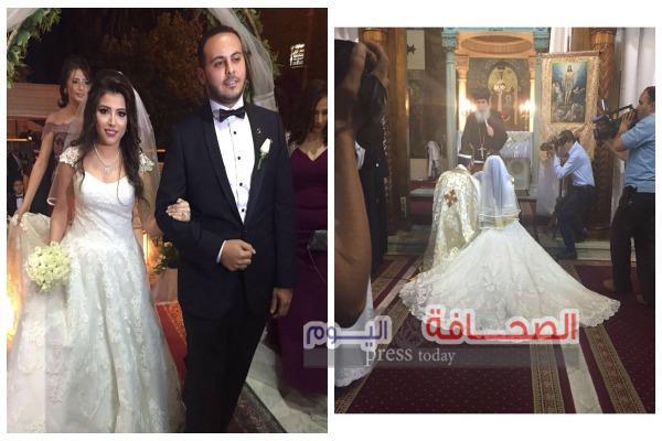 بالصور : زفاف د. شيرى شاهر ود. سامر فى ليلة من ألف ليلة