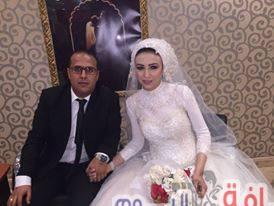 زفاف مجدى دياب وجهاد الكومى