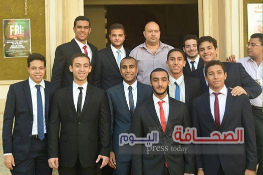 ألف مبروك لـ أحمد عبد السلام للتفوق فى الثانوية العامة