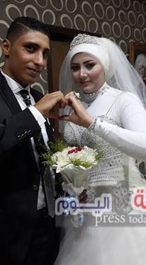 زفاف محمود الماضى وإيمان رمضان
