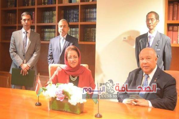 عمان ومدغشقر توقعان بيان مشترك لإقامة علاقات دبلوماسية