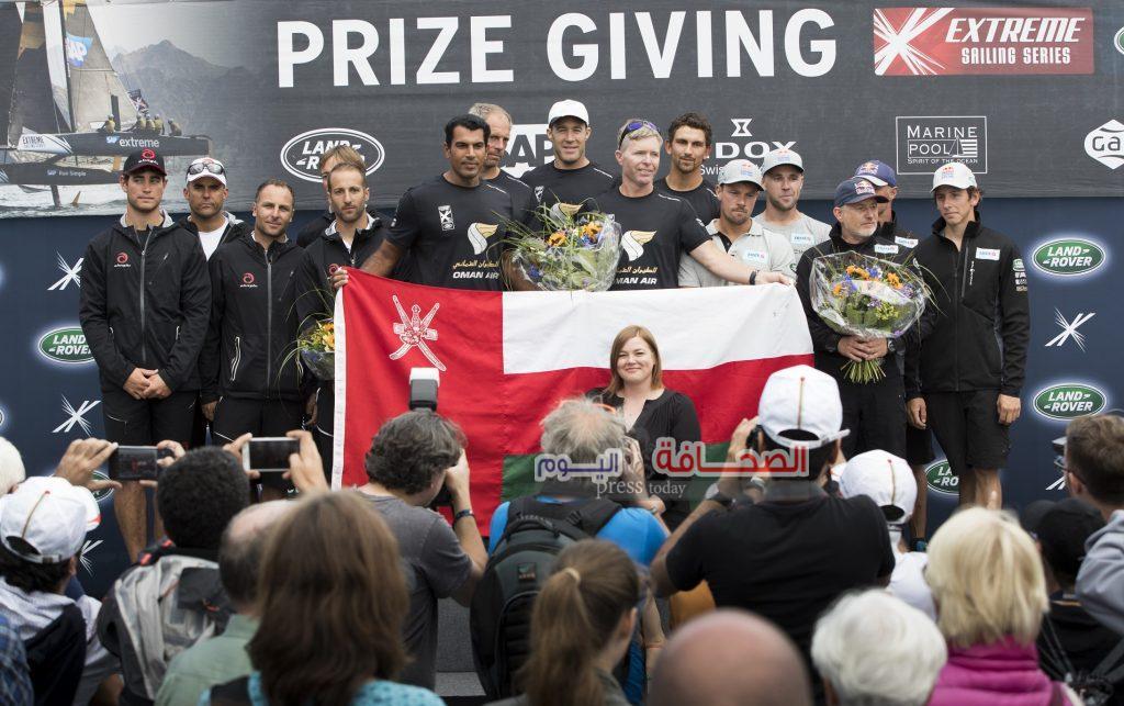 فريق سلطنة عُمان بطلاً للجولة للرابعة في سباقات الإكستريم الشراعية