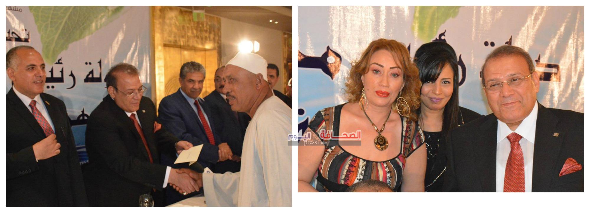 بالصور.. وزراء وفنانين فى الإحتفال بمهرجان وفاء النيل