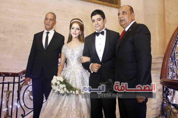 بالصور : زفاف نجل وكيل تويوتا بالأسكندرية يحيى عبود على عروسه ميار