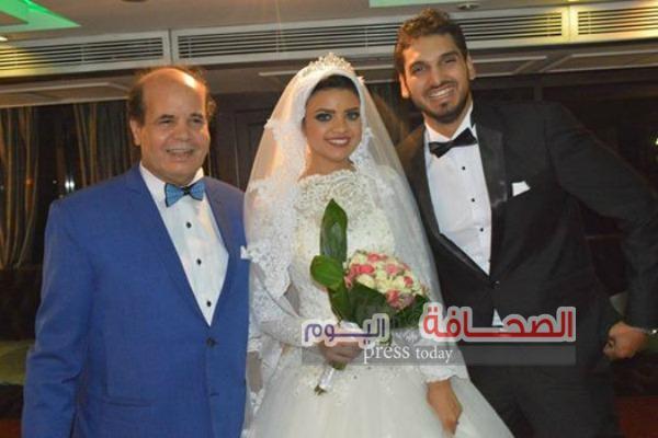 بالصور .. زفاف محمد حلمى وزهرة كريمة رئيس مهرجان الرقص المصرى