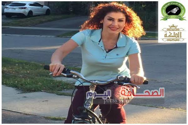 سفيرة المرأة العربية على الدراجة الهوائية في لندن