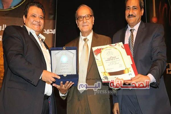 توزيع جوائز توفيق الحكيم وتكريم السلامونى