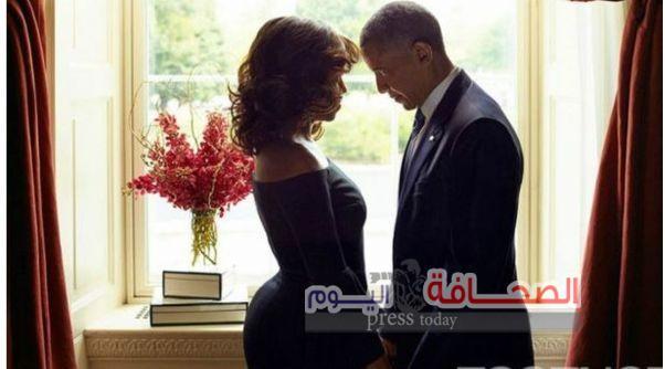 أوباما وميشيل يشعلان مواقع التواصل الإجتماعى