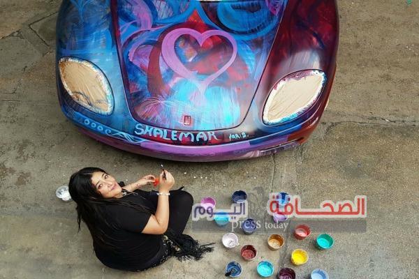"""بالصور..كيدج وبوتشيلى وترافولتا في حفل بيع سيارة """"شاليمار شربتلي"""" لصالح مرضى التوحد"""