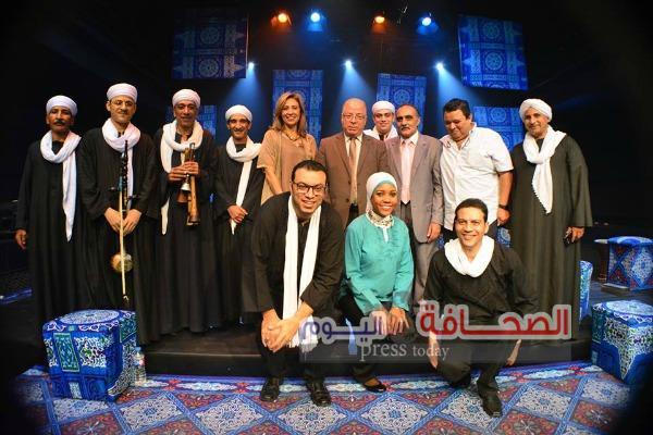 """""""غنا مصري""""  علي مسرح مركز الإبداع الفني"""