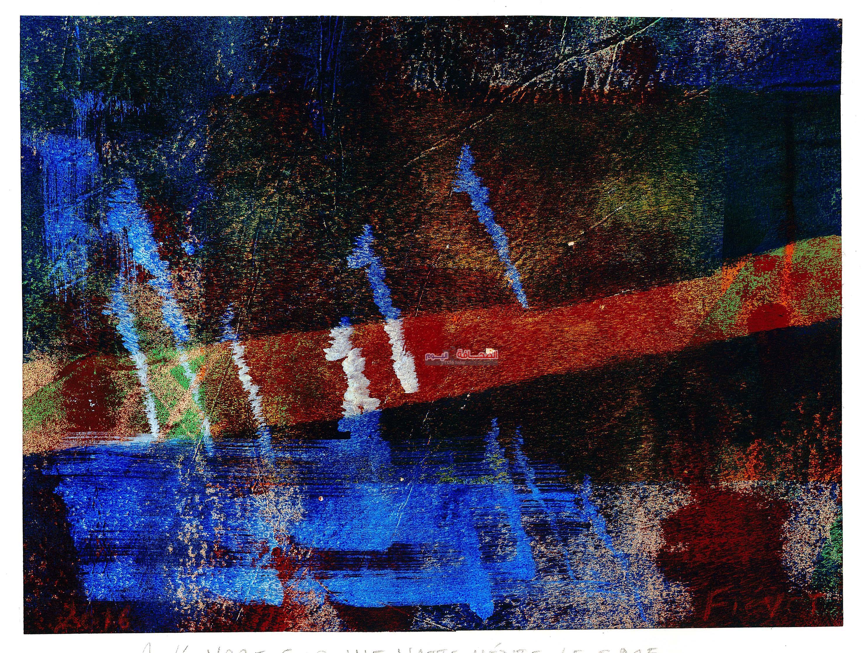 """"""" النيل """" بعيون الفنانة البلجيكية نادين فيفيه"""