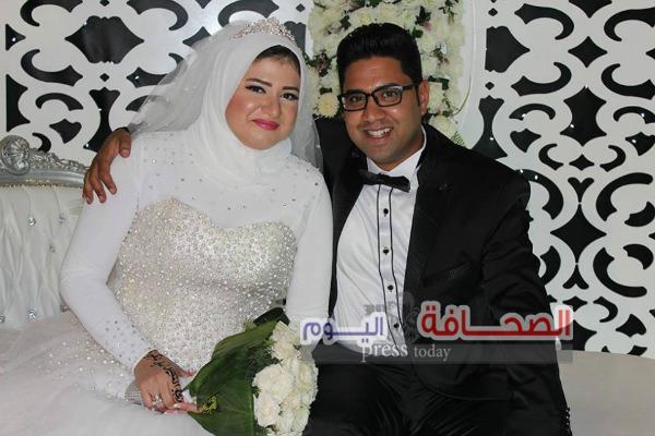 بالصور :زفاف عمرو داود وسجدة أحمد حسن