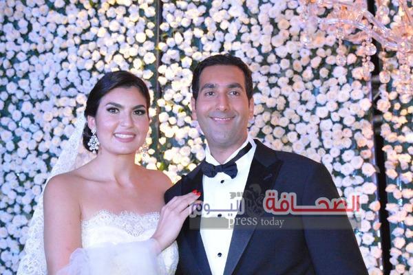 بالصور .. جيهان السادات ووزراء وفنانين فى حفل زفاف نجل ياسين باشا سراج الدين