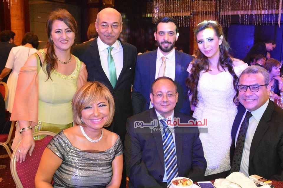 بالصور .. نجوم الاعلام فى حفل عقد قران المذيعة سمر نجيدة وأحمد أشرف