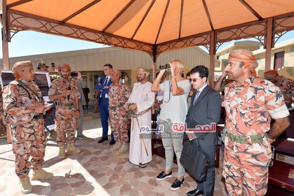 البيان عملي للتمرين العسكري العماني الإيطالي المشترك