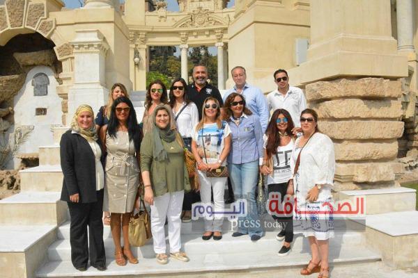 بالصور .. عضوات جمعية الصداقة المصرية اللبنانية فى زيارة لمتحف قصر عابدين