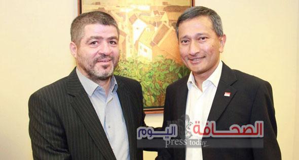 فيفيان بالاكريشنان وزير خارجية سنغافورة: زيارة الرئيس القاهرة تعكس أهمية مصر