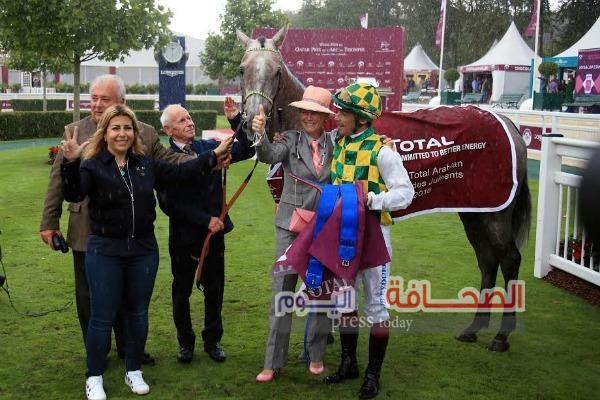 خيول منصور بن زايد تتألق فى الساحة العالمية