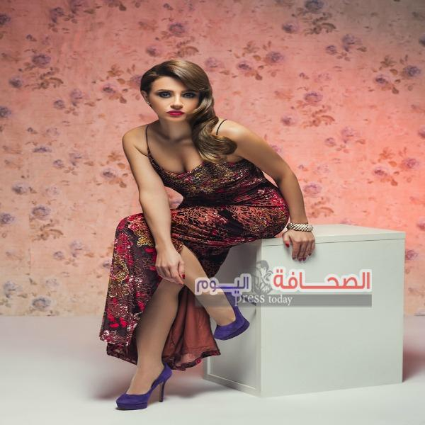 بالصور.. مريم حسن فى اطلالة رومانسية بأحدث جلسة تصوير
