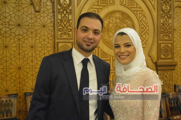بالصور .. عقد قران نجل رئيس محكمة إستئناف القاهرة