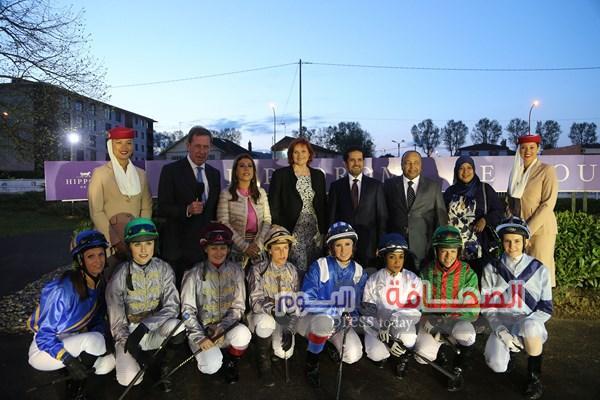 8 خيول تتنافس في الجولة الختامية لكأس زايد  بمضمار تولوز بفرنسا