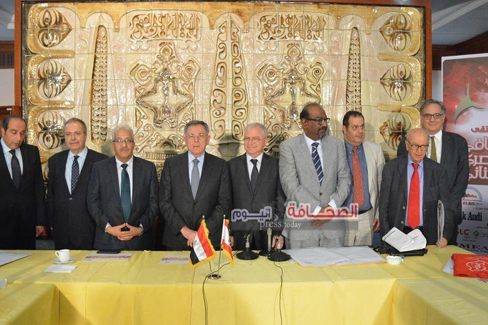 بالصور .. وزراء ومثقفون فى الملتقى الثقافى المصرى اللبنانى بمؤسسة الأهرام
