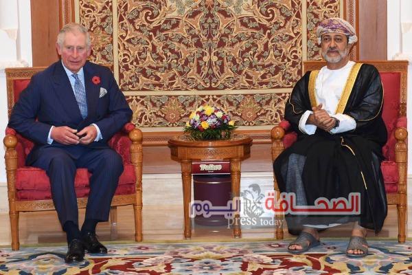 الأمير تشارلز يصل سلطنة عمان فى زيارة تستمر ثلاثة أيام