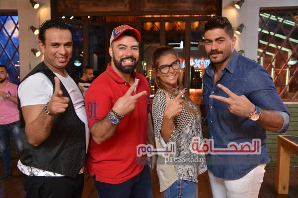 """مايا دياب ومحمود الليثي ومحمد رضا  نجوم """"ميكس ميوزيك """""""