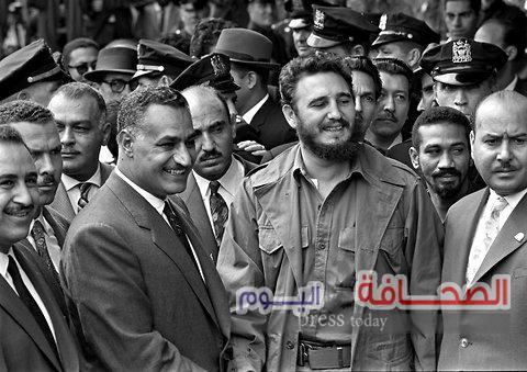 بالصور : الزعيم الكوبى الراحل فيدل كاسترو مع زعماء العالم