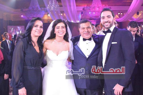بالصور … زفاف سلمى المغربى وأحمد جاد الله